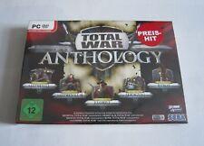 Total War Anthology - PC Spiele Sammlung - Bigbox - Neu