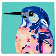 Maxwell & Williams Coaster Azure Kingfisher Pete Cromer Ceramic Cork, DU00