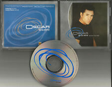 OSCAR DE LA HOYA Sings Run to me 2000 USA PROMO Radio DJ CD single BOXING