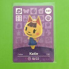 Animal Crossing Amiibo Card Series 2 #107 Katie