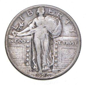 Razor Sharp - 1926-D Standing Liberty Quarter - Stunning Details! *000