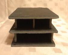 1 x 2 natural slate breeding Caves + shelf perfect for plecs bn L numbers fish
