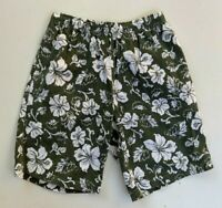 Men's retro 90s TARGET khaki Hawaiian tropical soft cotton shorts size 82/27