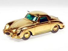 Schuco Micro-Racer Porsche 356 vergoldet # 158