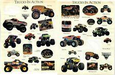 VINTAGE 1990's MONSTER TRUCK JAM STICKER (31pcs) GRAVE DIGGER PREDATOR REPTOID++