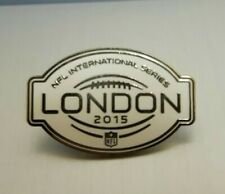 More details for 🏈 official nfl international series london 2015 pin badge