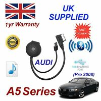For AUDI A5 Bluetooth USB Music Streaming Module MP3 iPhone HTC Nokia LG Sony 08