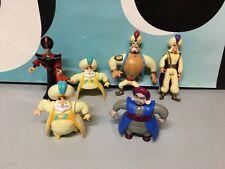 Disney Aladdin Lot of Figures PVC Cake Toppers Genie Jafar Aladdin