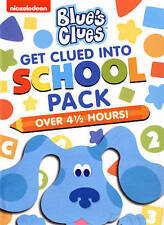 Blues Clues: Get Clued Into School Pack (DVD, 2015, 3-Disc Set) BRAND NEW