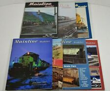 Mainline Modeler Magazine Lot Of 7 1991 - 1994