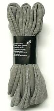 3 / 6 Pair Men's  Brown Cushion Bottom Merino Wool Work Boot Sock Size13-15.