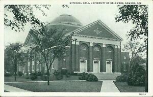 Mitchell Hall University of Delaware Newark 1930s Postcard