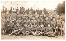Postcard WW1 Royal Marines to my darling wife Ruth George British Army  RPPC 1a
