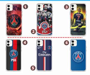 Coque PSG  - Paris  iPhone / Samsung / Huawei - Neymar - Kylian Mbappé