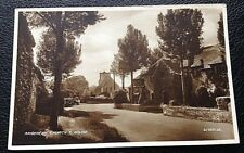 POSTCARD: AMBERLEY CHURCH AND HOUSE: UN POSTED