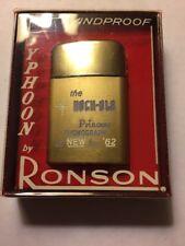 1962 Rockola Princess 1493 Jukebox Ronson Typhoon Windproof Lighter NIB NEW