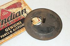 GENUINE Vintage Indian Chief Scout Four 4 Air Cleaner Backing Plate