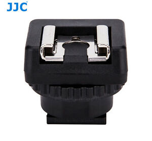 JJC Standard Cold Shoe Adapter Converter for Sony Multi Interface Shoe Camcorder