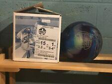 Brunswick Tenacity Grit 15lbs New & Undrilled Great Box Spec's 1st Quality Ball!