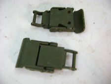 Military TV-7 tube tester Signal Corp Corbin box lock latches pair NOS