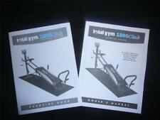 Total Gym 1800 Club Exercise Guide with Owner's Manual