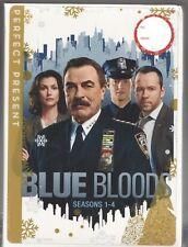 Movie DVD - BLUE BLOODS Seasons 1-4 - SEALED/NEW - Paramount