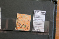 STAMPS OLD GERMANY STATES NORTH GERMANY USED (F102550)