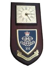 16th Regiment Royal Artillery Wall Plaque & Clock Military