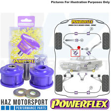 Powerflex Front Lower Tie Bar To Chassis Poly Bushes For BMW 5 Series E34 88-96