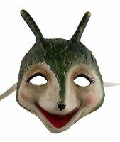 Maschera Di Venezia Ant IN Carta Pesta Artigianato Fatto a Mano 1819 - V7