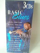 Basic Blues 3 CD NEW Etta James T-Bone Walker Howlin'Wolf Luther Allison BB King