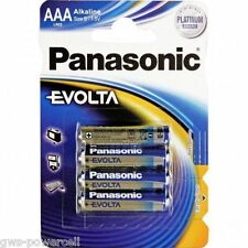 100 x Panasonic Evolta  Batterie AAA LR3 Micro Platinium Akali 1,5V LR03 MN2400