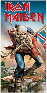 Iron Maiden The Trooper - Bath Towel - Sauna Towel - 150x75cm - New