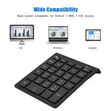 Wireless Bluetooth Numeric Keypad Numpad Digital Num Pad For Windows Android iOS