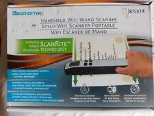 PANDIGITAL HANDHELD Wifi WAND SCANNER - SCANRITE TECH NEW IN BOX Black