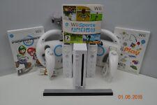 Nintendo Wii console + 15 games inc mario kart + 2 remotes + 2 nunchucks