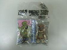Toy2r Qee Toxic Swamp Joe Lebbetter Brown 07 Kidrobot Dunny Worldwide Free S/H