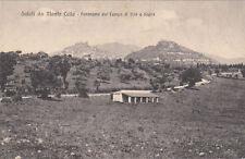 * MONTECELIO - Panorama dal Campo di tiro a segno
