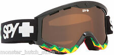 BRAND NEW IN BOX Spy TARGA 3 RUDE BOY BRONZE LENS Snowboard Ski Goggle LIMITED