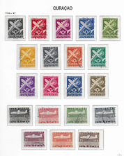 1947 USED Curaçao Airmail NVPH  LP69-88