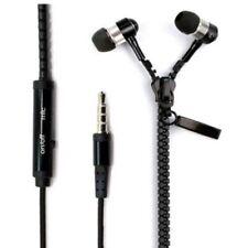 3.5mm Zipper In-Ear Wired Earphone Heavy Bass Headphone Mic for Phone MP3 Well