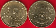 """Vatican 50 euro cents coin 2014 """"Pope Francis"""" UNC"""