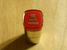 1 tube Milani Color Statement Lipstick 66 MATTE PASSION unsealed