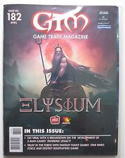 GMT Game Trade Magazine: Issue 182: Sealed w/ Mayfair Games Set #16 (M487)