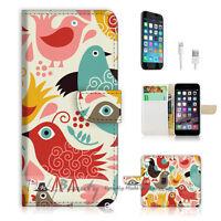 ( For iPhone 6 Plus / iPhone 6S Plus ) Case Cover P1418 Bird