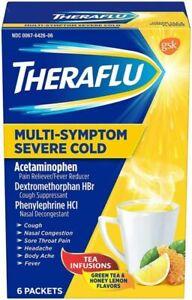 Theraflu Severe Cold Multi Symptom Severe Cold Powder 6 count
