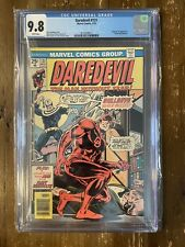 Daredevil #131 CGC 9.8 White Pages First Appearance Of Bullseye