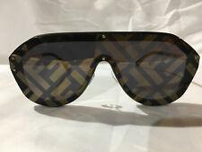 AUTHENTIC NEW Fendi Unisex FDM FfM0039 Sunglasses Black Gold