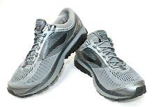Brooks Ghost 10 Men's Size 10.5 E Running Shoe Gray Metallic Charcoal