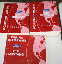 2011 Ford Mustang Workshop Manuals & Wiring Diagrams